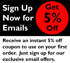 Email Signup Coupon