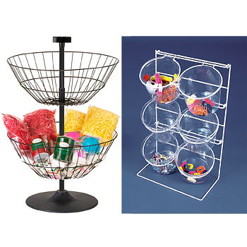 Basket & Jar Displays