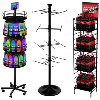 Wire Spinner Racks, Floor, Countertop Spin Racks | Marvolus