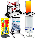 Outdoor Sign Displays