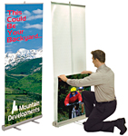 Retractable/Rollup Displays