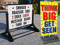 Roadside Large-Format Signs