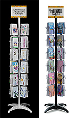 48-Pocket Greeting Card Floor Displays