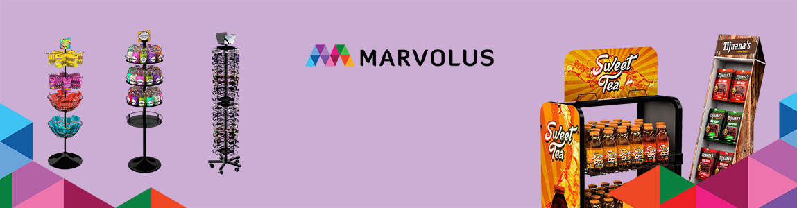 Marvolus stock and custom displays made easy