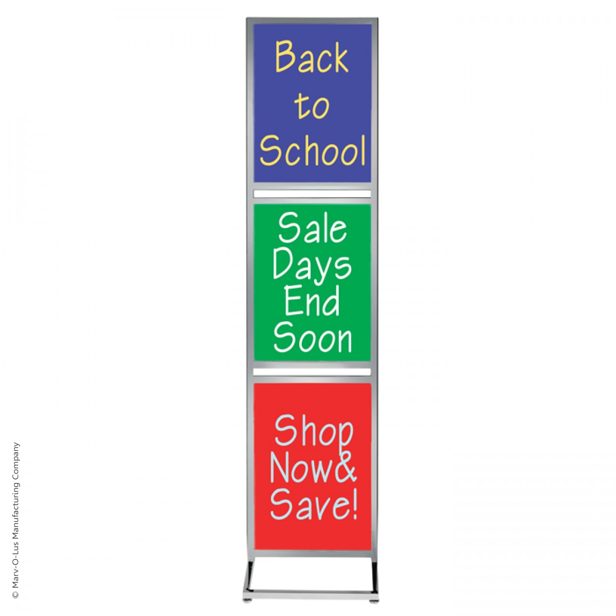 Bulletin Sign Stand With Three 22 Quot X 28 Quot Poster Frames