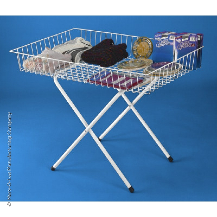 "48"" X 30"" Folding Dump Display Merchandise Table"