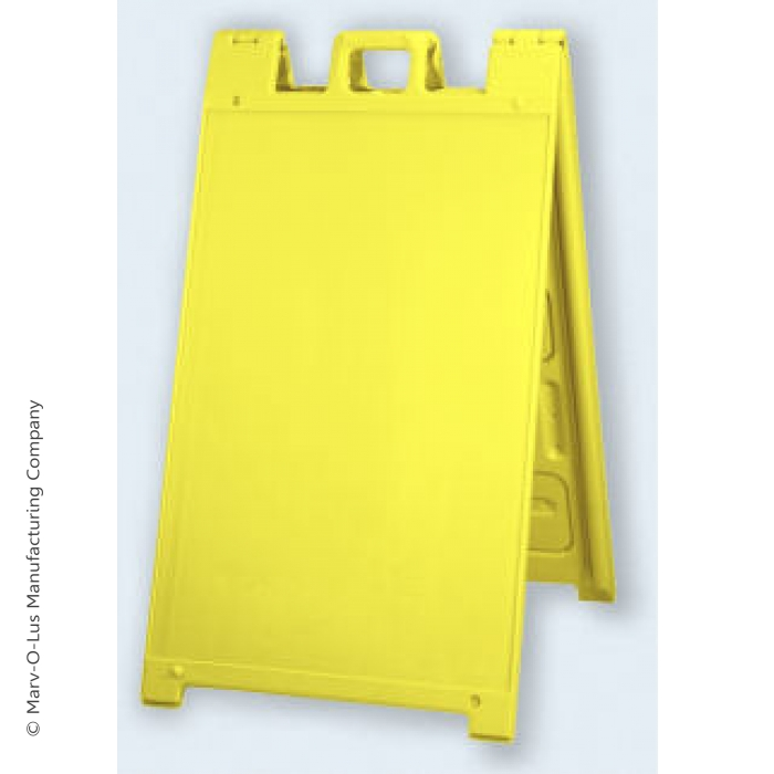 "24"" x 36"" Signicade Outdoor Sidewalk Sign (Yellow)"