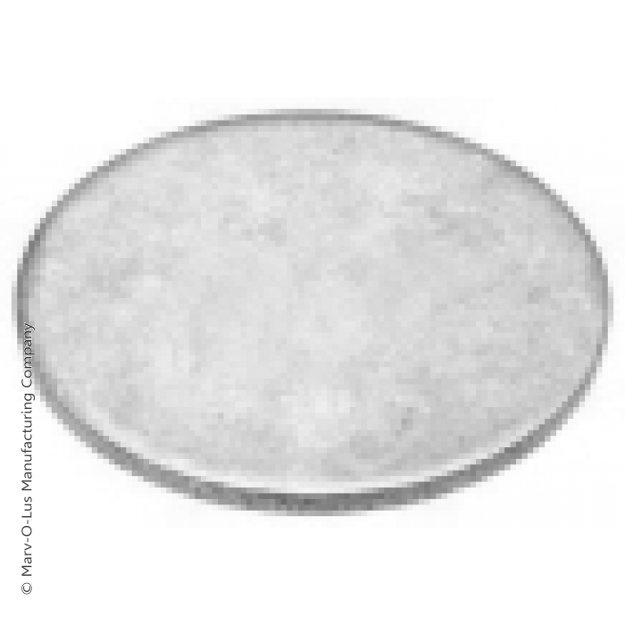 "3"" Diameter Flat Steel Disc"