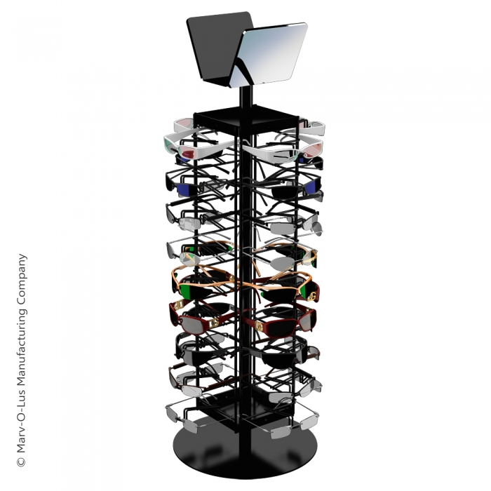 Economical 36 Sunglasses Countertop Spinner Display Rack