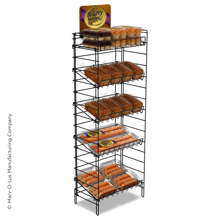 "5 Shelf Fold-Up Floor Display (24"" Wide)"