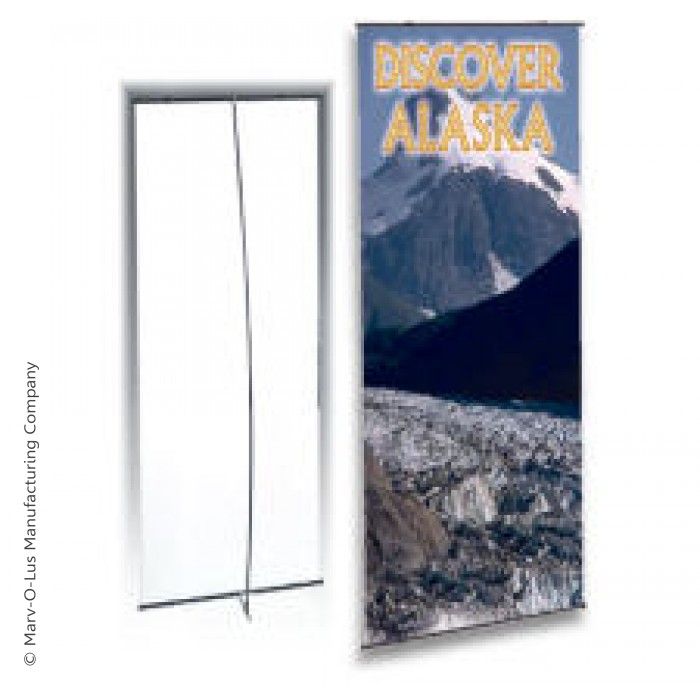 Portable Display Stand For 24 Quot X 72 Quot Banners With Case