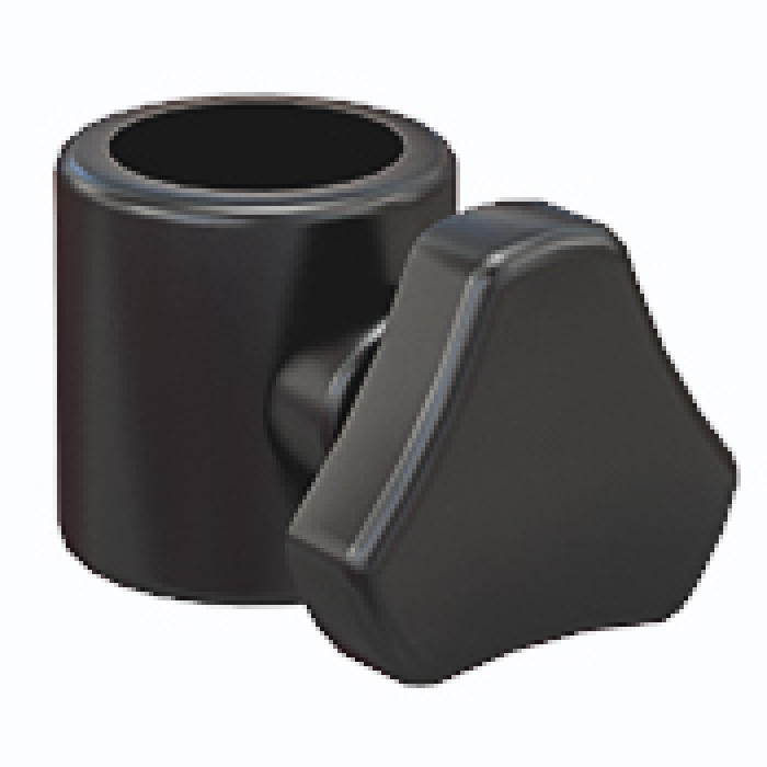 "Plastic Clamp for 3/4"" diameter poles"