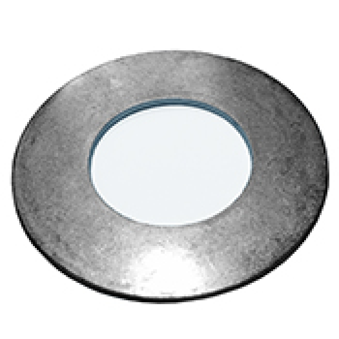"ZINC PLATED Flat Washer for 1"" Diameter Tubes (2"" O.D. x 16 gauge)"