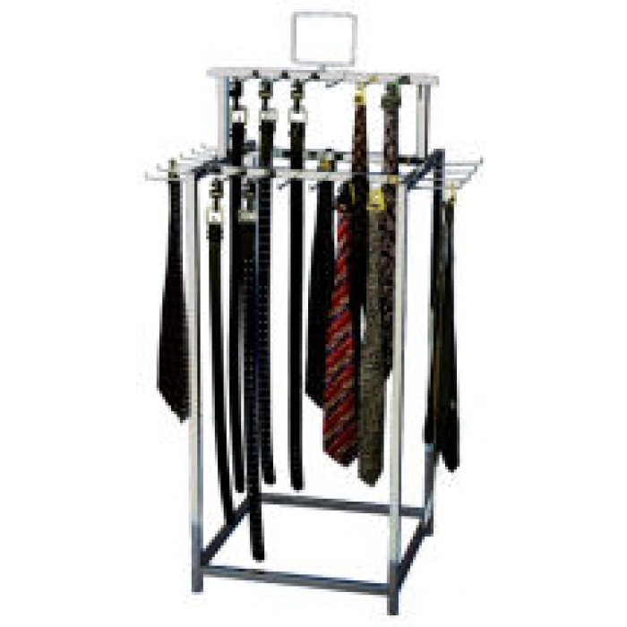 34-Hook Belt/Tie Rack