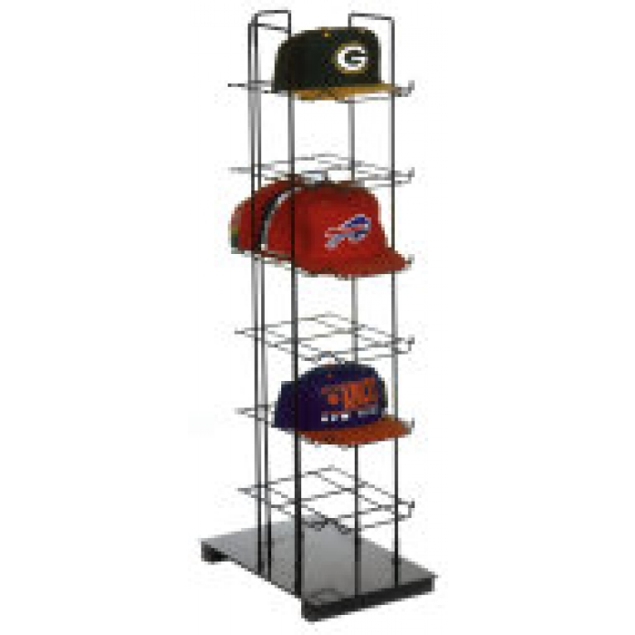 6-Shelf CapTower Countertop Display for Baseball Hats