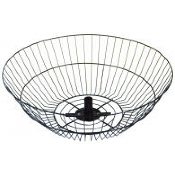 "22"" Diameter Spinner Basket (Black)"
