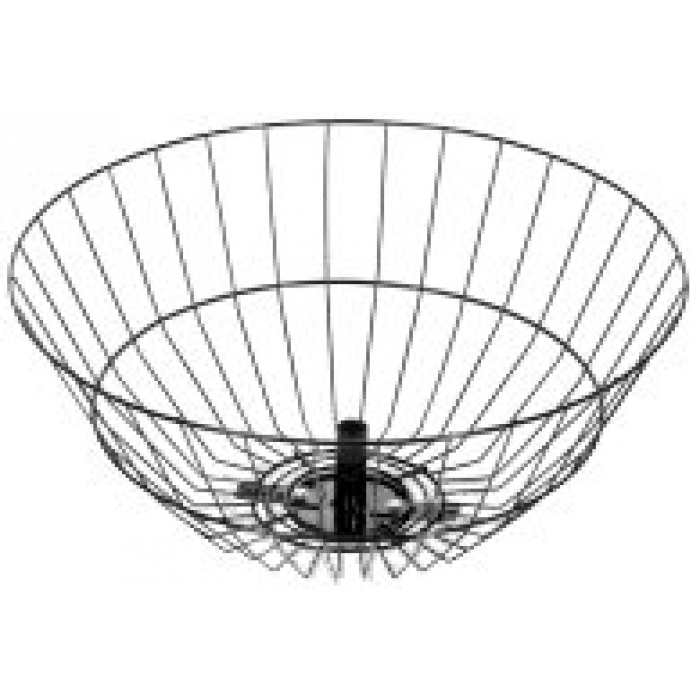 "18"" Diameter Spinner Basket (Black)"