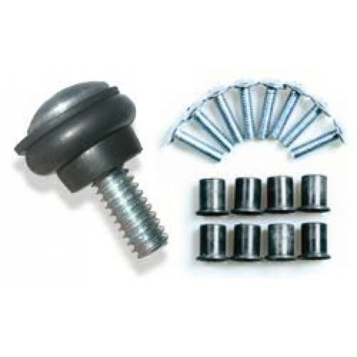 Set of Well-Nuts & Screws