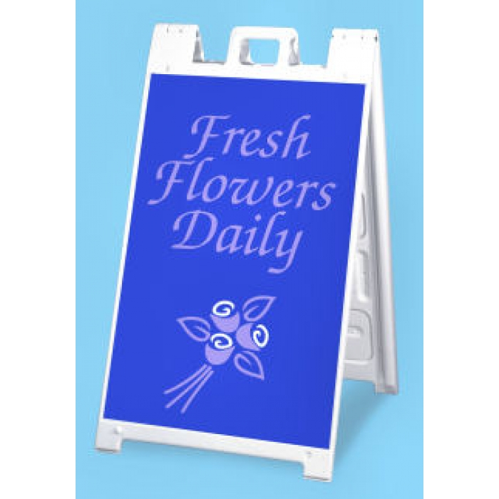"24"" x 36"" Signicade Outdoor Sidewalk Sign (White)"