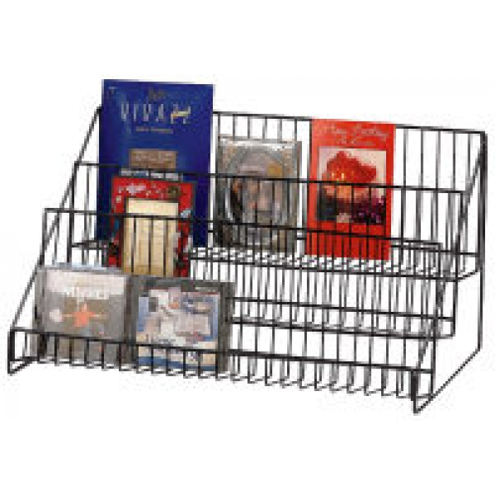 "3-Shelf Countertop  Display Rack (23.5"" Wide)"