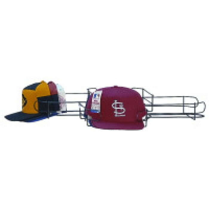 Baseball Cap Display Tier (Silver)
