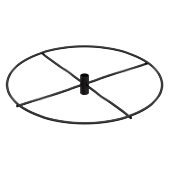 "16"" Diameter Ring Tier (Black)"