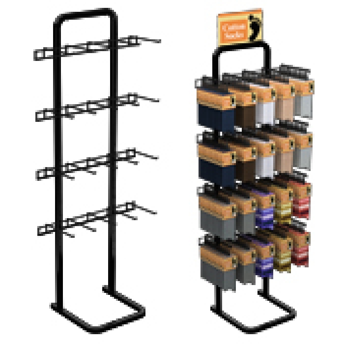20-Hook Single Sided Marvelous Merchandiser Floor Display