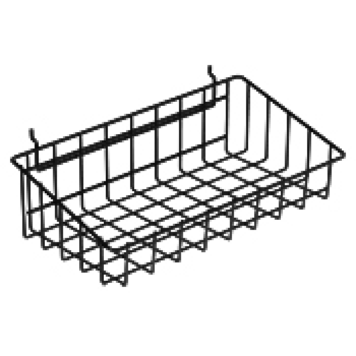 "Wire Merchandiser Basket (10"" x 18"")"