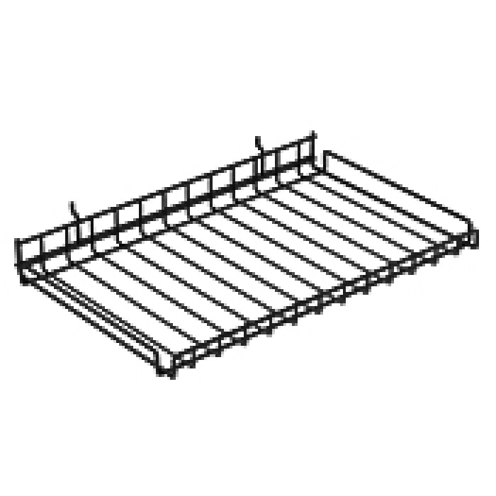 "Wire Merchandiser Shelf (23"" x 15"")"