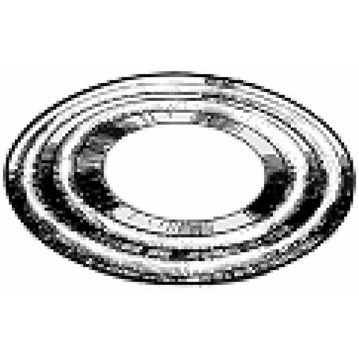 """Double-Ring Welding Washer for 2"""" Diameter Tubes (4"""" O.D. x 16 gauge)"""